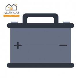 باتری سیلد لید اسید خشک 12 ولت 100 آمپر فرانت صبا باتری(saba battery)