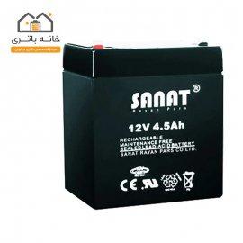 باتری 12 ولت 4.5 آمپر صنعت(Sanat)