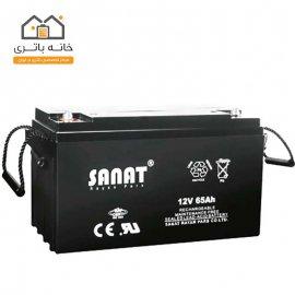 باتری 12 ولت 65 آمپر صنعت(Sanat)
