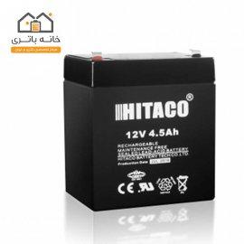 باتری 12 ولت 4.5 آمپر هیتاکو(HITAKO)