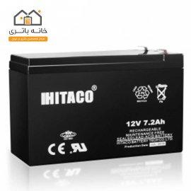باتری 12 ولت 7.2 آمپر هیتاکو(HITAKO)