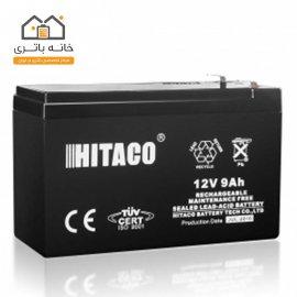 باتری 12 ولت 9 آمپر هیتاکو(HITAKO)