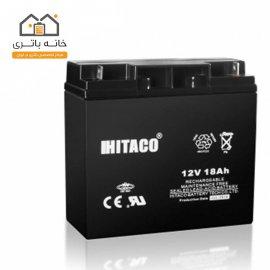 باتری 12 ولت 18 آمپر هیتاکو(HITAKO)