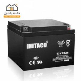 باتری 12 ولت 28 آمپر هیتاکو(HITAKO)