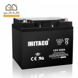 باتری 12 ولت 42 آمپر هیتاکو(HITAKO)