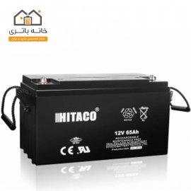 باتری 12 ولت 65 آمپر هیتاکو(HITAKO)