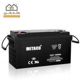 باتری 12 ولت 120 آمپر هیتاکو(HITAKO)