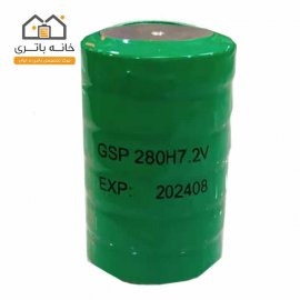 باتری حنجره 7.2 ولت 280 میلی آمپر جی اس پی(GSP)