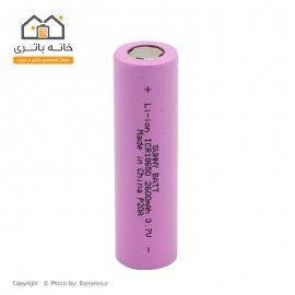 باتری لیتیوم آیون 2600mAh ICR18650 سانی بت