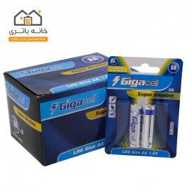 باتری قلمی آلکالاین گیگاسل بسته ای (12 ورق - 24 عدد)