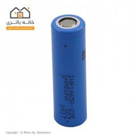 باتری لیتیوم 18650 شارژی 3.7 ولت 2850 میلی آمپر 29E سامسونگ Samsung