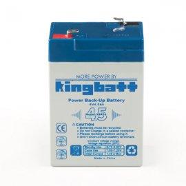 باتری سیلد اسید 6 ولت 4.5 آمپر کینگ بت kingbatt