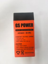 باتری سیلد اسید 4 ولت 4 آمپر جی اس پاور GSPower