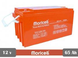 باتری 12 ولت 65 آمپر موریسل Moricell