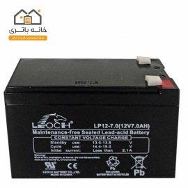 باتری خشک 12 ولت 7 آمپر لئوچ