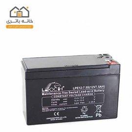 باتری 12 ولت 7.5 آمپر لئوچ