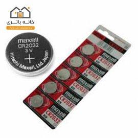 باتری سکه ای مکسل 2032 پک 5 عددی