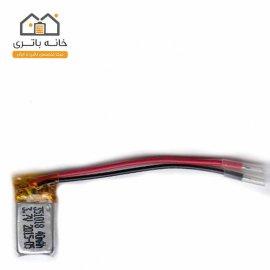 باتری لیتیوم پلیمر3.7ولت40میلی آمپر(351018)