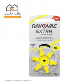 hearing aids Rayovac battery ZA10