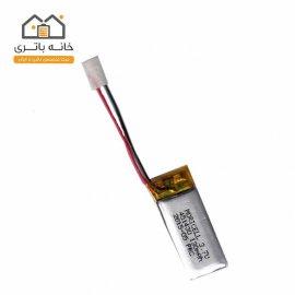باتری لیتیوم پلیمر 3.7 ولت 130 میلی آمپر(451430)