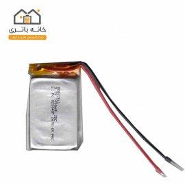 باتری لیتیوم پلیمر 3/7 ولت 1000 میلی آمپر(823048)