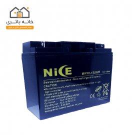 باتری  12 ولت 18 آمپر نایس - Nice
