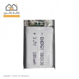 باتری لیتیوم پلیمر 3.7 ولت 180 میلی آمپر ساعت انرژی (382030)