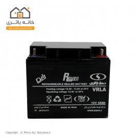 باتری 12 ولت 42 آمپر صبا باتری - Saba Battery