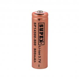 lithium rechargeable 3.7vAA Battery