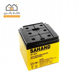 باتری  12 ولت 28 آمپر سهند - Sahand