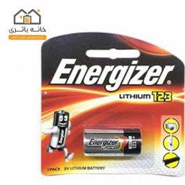 باتری لیتیوم انرژایزر CR123 غیر شارژی