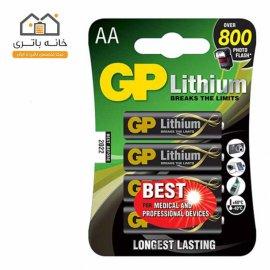 باتری قلمی لیتیوم جی پی GP