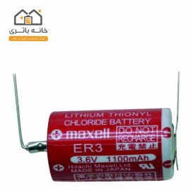 باتری مکسل 3.6 ولت 1/2AA ER3