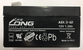باتری خشک لانگ لایف 12 ولت 1.3 آمپر