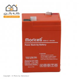 battery Sealed lead acid 6v 4.5Ah moricell