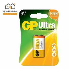 باتری 9 ولت آلکالاین جی پی GP
