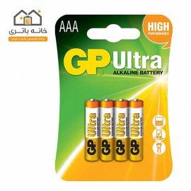 باتری نیم قلم 4 عددی آلکالاین جی پی GP