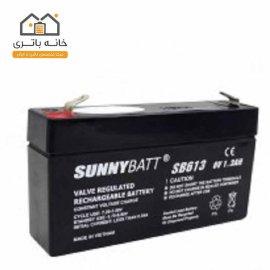 باتری سیلد اسید 6 ولت 1.2 آمپر سانی بت
