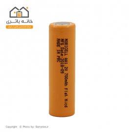 باتری قابل شارژ قلمی سرتخت 700 میلی آمپر