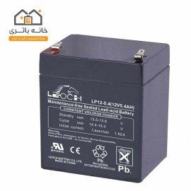 باتری خشک 12 ولت 5.4 آمپر ساعت لئوچ(leoch)