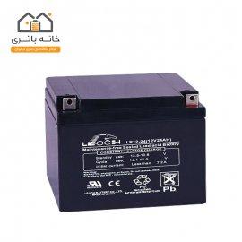 باتری 12 ولت 24 آمپر لئوچ - Leoch