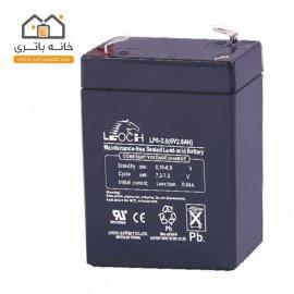 باتری سیلد اسید 6 ولت 2.8 آمپر لئوچ