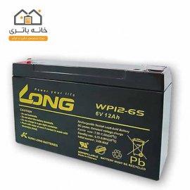باتری خشک 6 ولت 12 آمپر ساعت لانگ