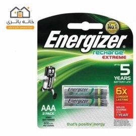 باتری نیم قلم شارژی انرژایزر 800 میلی آمپر Energizer