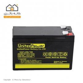 باتری خشک 12 ولت 7.5 آمپر یونیتکس پاور -  Unitex Power