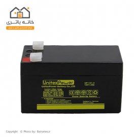 باتری سیلد اسید 12 ولت 1.3 آمپر Unitex Power یونیتکس پاور