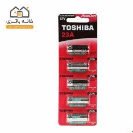 باتری ریموت A23 پنج عددی توشیبا Toshiba