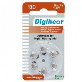 hearing aids digihear battery ZA13
