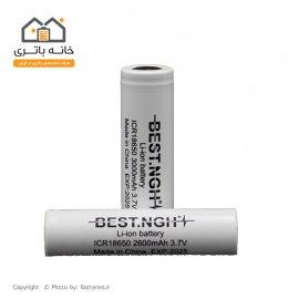 باتری لیتیوم آیون شارژی 18650 3.7 ولت 2600 میلی آمپر بست - Best