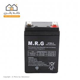 باتری سیلد اسید 4 ولت 6 آمپر M.R.G